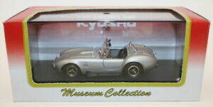 Kyosho 1/43 Scale Diecast Metal Model 03011S - Shelby Cobra427 S/C Silver