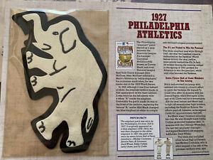 WILLABEE & WARD 1927 Philadelphia Athletics Patch