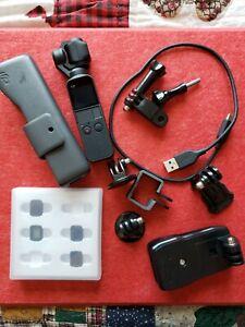 DJI Osmo Pocket 3-Axis Stabilizer/4K Handheld Camera (+BONUS accessories)