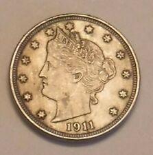 1911 V Nickel in XF Condition