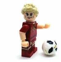 DE BRUYNE BELGICA SOOCER FUTBOL FOOTBALL TIME MINIFIGURA LEGO MOVIE DIORAMAS