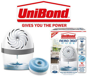 Unibond AERO 360 Moisture Absorber Dehumidifier System Device Or Genuine Refills