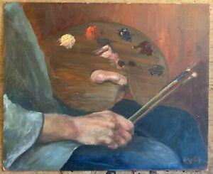 Marika Eversfield (1914-2014) - 20th Century Oil,  artist Pallette