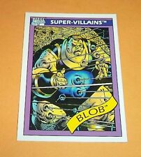 The Blob # 71 - 1990 Marvel Universe Series 1 Base Impel Trading Card