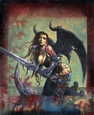 SIMON BISLEY   HEAVY METAL  LOST ANGEL  18x24  POSTER   2008  RARE