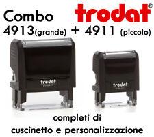 Timbro Pastiglie Trodat Cuscino di Ricambio Printy 4910 4911 4912 4913 4915