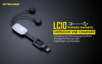 Nitecore LC10 Portable Magnetic  Battery USB Charger Power Bank 4 all Cell Phone