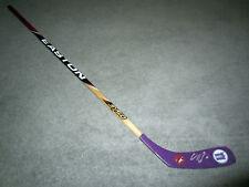 Clayton Keller Autographed Arizona Coyotes Signed Hockey Fights Cancer Stick Coa