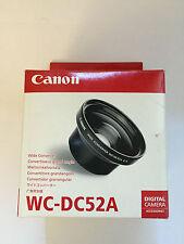 CANON WC-DC52A CONVERTITORE GRANDANGOLARE ORIGINALE