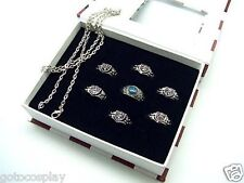 Katekyo Hitman Reborn Accessories - Set of 7pcs Rings and Necklace