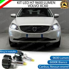 KIT LED H7 CANBUS VOLVO XC60 CON LED 9600 LUMEN 6000K ANABBAGLIANTI