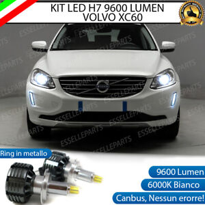 KIT LED H7 CANBUS VOLVO XC60 CON LED 9600 LUMEN 6000K ANABBAGLIANTI