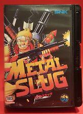 SNK NEO GEO  AES  Metal Slug  Conversion