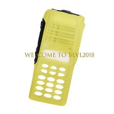 Yellow Full-keypad ReplacementHousingCas eCoverFor Motorola Ht1250 Radio