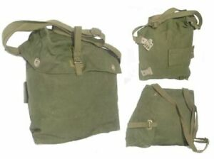 Bag Shoulder & Waist Strap Robust Cotton Canvas Genuine Military Issue Olive NEW