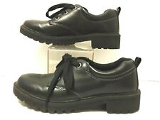 """Route 66 Boys Shoes """"Taylor"""" Black Footwear All Man Made Material Size 5.5M"""