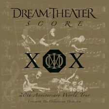 DREAM THEATER - SCORE: 20TH ANNIVERSARY WORLD TOUR 4 VINYL LP NEU