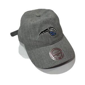 NWT Orlando Magic Mitchell & Ness Adjustable Fit NBA Knit Strapback Hat Cap OSFA