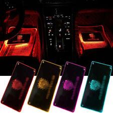 Led Car Floor Mats w/Atmosphere Lamp Decoration Light Colorful Foot Pedal Light