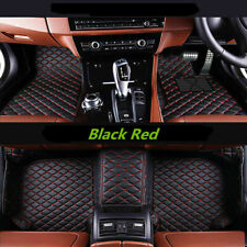 Luxury Tailored Full Coverage Car Floor Mats Leather for Audi A3 8p