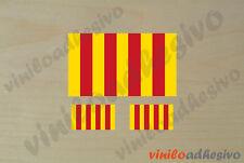 PEGATINA STICKER VINILO Bandera Catalunya senyera autocollant aufkleber adesivi
