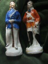 staffordshire soldier figures victorian small US Union soldier & Garibaldi