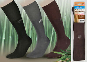 BAMBOO MEDICAL KNEE LONG SOCKS by DEOMED ANTI-BACTERIAL non-compressive QUALITY