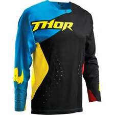 Vêtements de cross noirs Thor