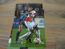 TAVARES - SLAVIA PRAGUE, HSV & FRANCE - PHOTOGRAPH ORIGINAL SIGNED **