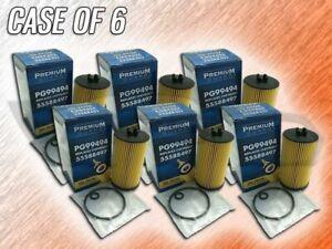 PREMIUM GUARD PG99494 OIL FILTER FOR 17-19 CRUZE 18-20 EQUINOX - CASE OF 6