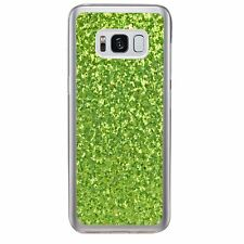 Fashion Glitter Bling Soft TPU Gel Silicone Back Cover Case For Samsung Huawei
