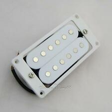 Blanc Humbucker Style Pick-up De Guitare et Surround. Micro Manche, 9.2 ohms