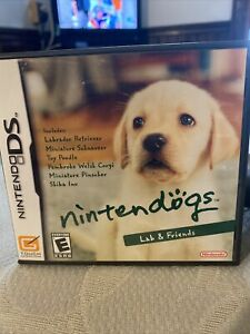 Nintendogs: Lab & Friends - Nintendo DS Game - Game Only