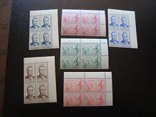 TÚNEZ - sello yvert/tellier n° 434 a 439 x4 N MNH (COL4)