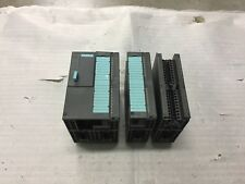 Siemens S7 CPU312 IFM  6ES7312-5AC01-0AB0 with 2 extra cards