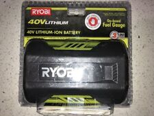 Brand New Ryobi 40V Lithium-Ion Battery OP4026 Large High Capacity 40 Volt NEW..