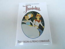 VINTAGE PROMO PINBACK BUTTON #89-130 - MOVIE - THUMBELINA - PRINCE CORNELIUS