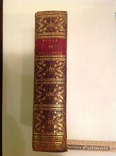 """Livre """"histoire de l'ancien et du nouveau testament"""" Royaumont 1813"""