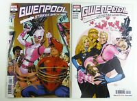 Marvel GWENPOOL STRIKES BACK (2019) #1-2 Lot Terry DODSON Covers SPIDER-MAN NM