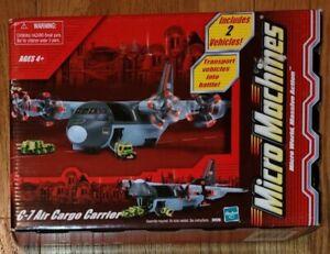 """Vintage Micro Machines C-7 Air Cargo Carrier *NIB"""" #74176"""