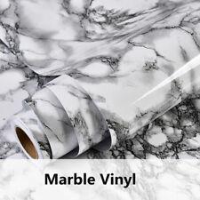 Grey&white Marble Sticker Vinyl Wallpaper Furniture Cabinet Sticker home tint