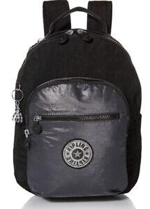 Kipling Seoul Small Metallic Tablet Backpack!! Nwt!!