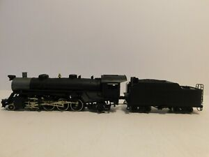 Athearn DCC/Sound Undecorated USRA 2-8-2 Light Mikado Steam Locomotive & Tender