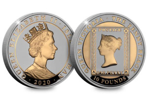 The new Silver 5oz Coin paying tribute to the world's greatest postage stamp