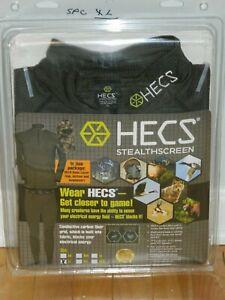 HECS Stealthscreen- Human Energy Concealment Suit- XL- Top Bottom Headwear