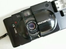 Olympus XA with A11 Flash - 35mm Compact Film Camera with 35mm f2.8 Lens Working