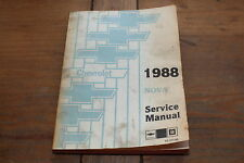 Nova 1988 Chevy Shop Service Manual ST-373-88