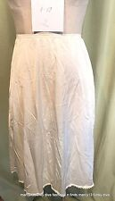 """Vintage Nylon Off-White Vanity Fair 1/2 Slip  Size 38 waist 21"""" to 32"""""""