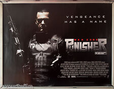 Cinema Poster: PUNISHER WARZONE 2009 (Quad) Ray Stevenson Dominic West