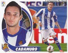 07B CADAMURO ESPANA REAL SOCIEDAD FC Sochaux STICKER CROMO LIGA 2013 PANINI